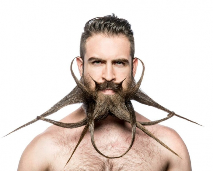 Mr-Incredibeard2 25 Crazy and Bizarre Beard and Moustache Styles