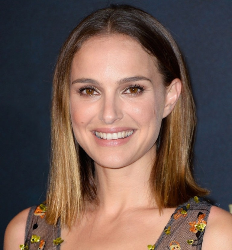 Natalie-Portman-sombre-hair-color-looks-2014 Celebrity Hair Color Trends for Spring & Summer 2017 ... [UPDATED]