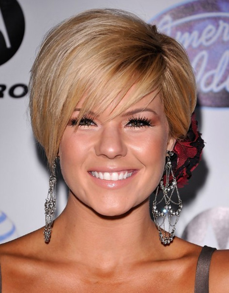 Nice-Popular-Short-Bob-Hairstyles-for-Round-Faces 25+ Short Hair Trends for Round Faces Chosen for 2019