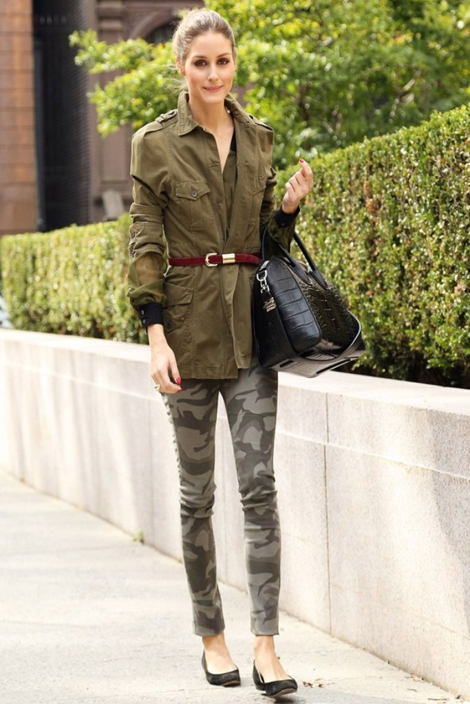 Olivia-Palermo_glamour_31oct13_rex_b_592x888 20 Military Clothing Fashion Trends 2017 ... [UPDATED]