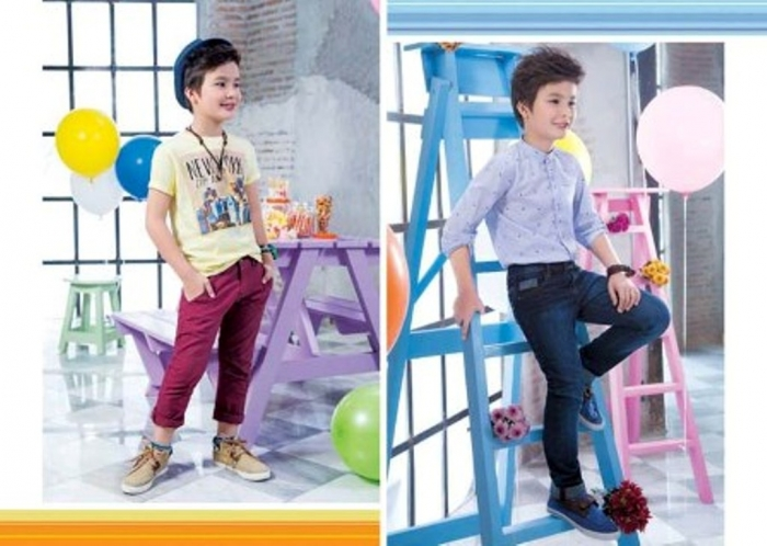 Outfitters-Junior-Latest-Summer-Suits-Collection-2014-for-Kids-6 Junior Kids Fashion Trends for Summer 2017