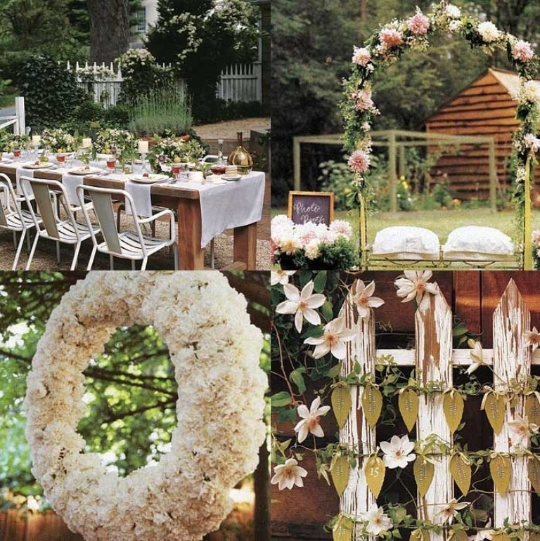 Rustic-Outdoor-Wedding-Decorations 25+ Best Wedding Decoration Ideas in 2019