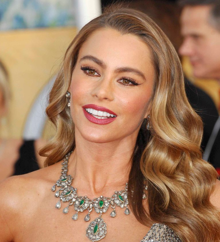 SofiaVergara1 Celebrity Hair Color Trends for Spring & Summer 2017 ... [UPDATED]