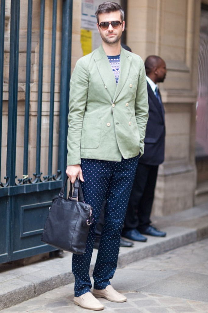 Street-Style-Polka-Dots-2 Latest European Fashion Trends for Spring & Summer 2017 ... [UPDATED]