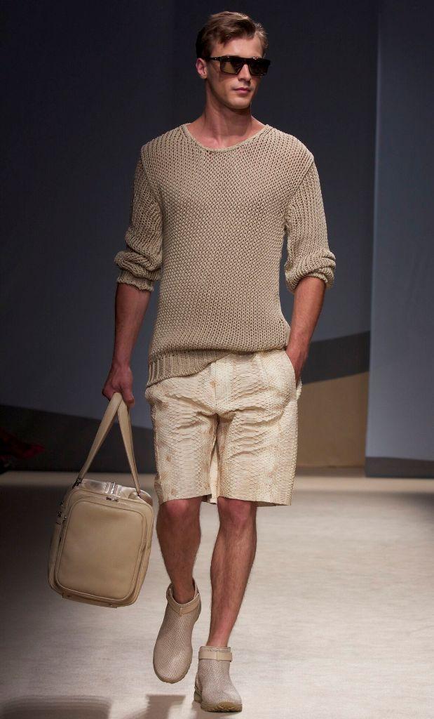 Summer-2014-Fashion-Trends-Trussardi Top 10 Hottest Men's Color Trends for 2019