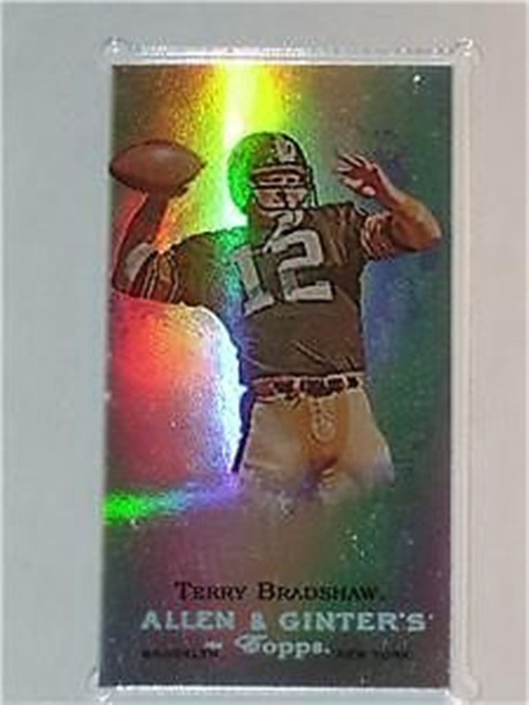Terry-Bradshaw-AG-Super-Bowl-Champion-eTopps-In-Hand-Chrome Top 10 Most Valuable & Expensive eTopps Sports Cards