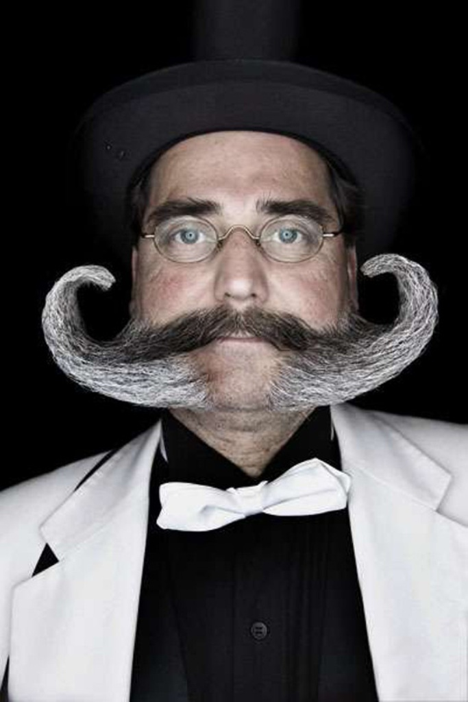 The-Gravity-Defying-Beard 25 Crazy and Bizarre Beard and Moustache Styles