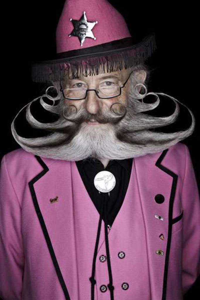The-Octo-Beard 25 Crazy and Bizarre Beard and Moustache Styles
