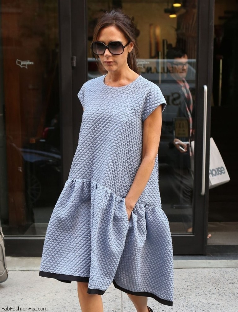 Victoria+Beckham+Dresses+Skirts+Day+Dress+6dZTy2TSbeux Top 10 Celebrity Casual Fashion Trends for 2019