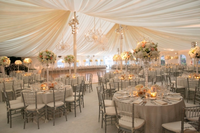 Wedding-Tent-decor1 Top 10 Modern Color Trends for Weddings Planned in 2019