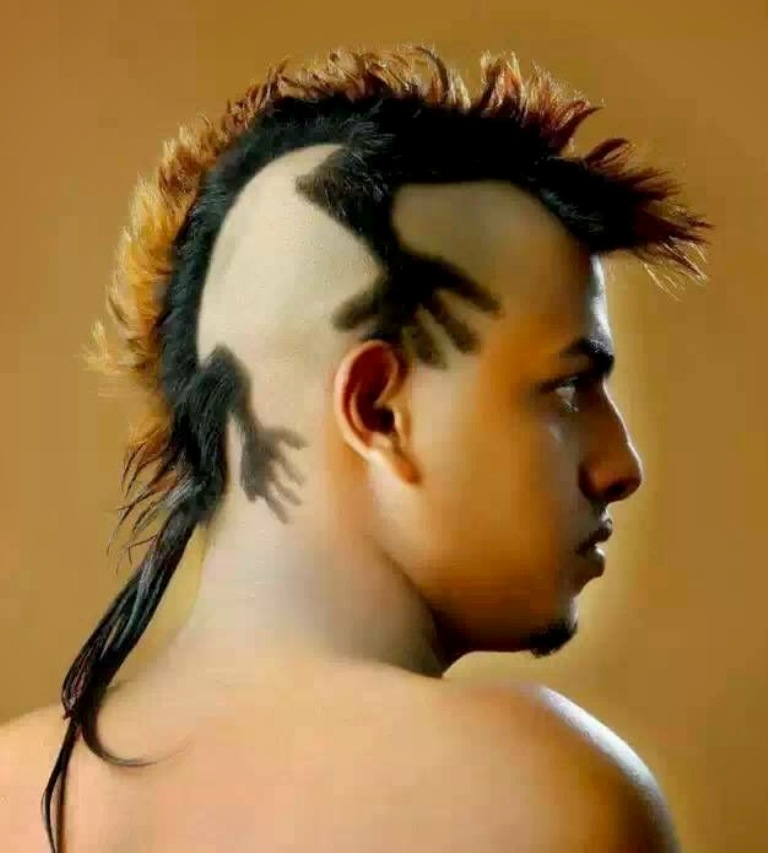 Weird-Hairstyles-3 25 Funny and Crazy Hairstyles to Change Yours