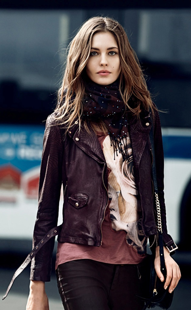 Womens-Leather-Jackets-2013-2014-7 Top 12 Hottest Women's Color Trends Coming for 2019