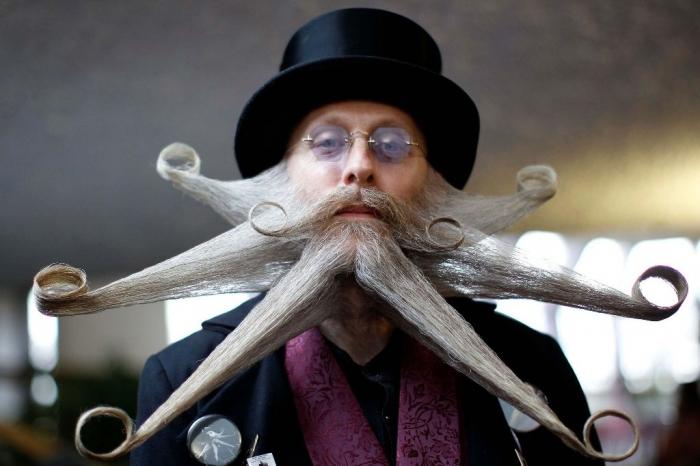 World-Beard-Championships-2013 25 Crazy and Bizarre Beard and Moustache Styles
