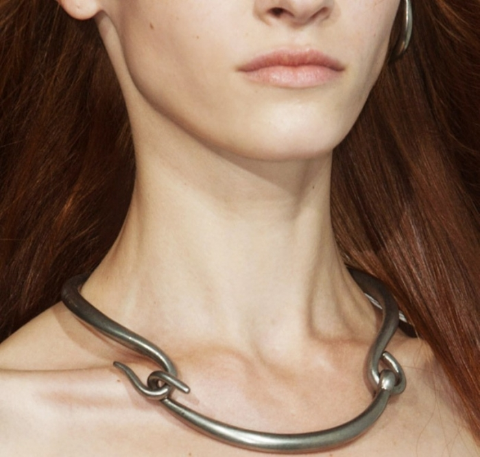 acne-ss-2014 Hottest 20 Necklace Trends for Summer 2017