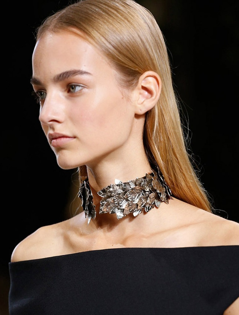 balenciaga-ss-2014-1 Hottest 20 Necklace Trends for Summer 2017