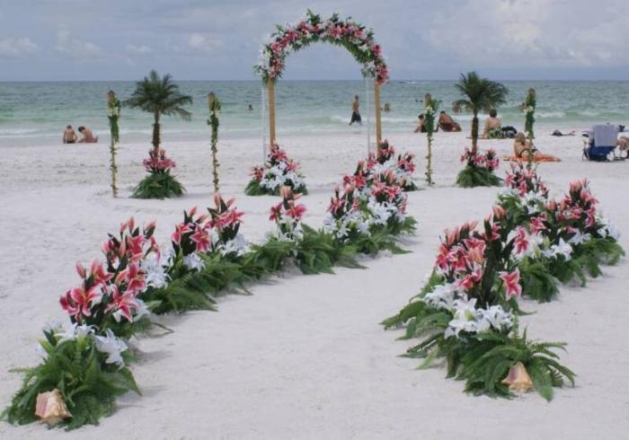beautiful-beach-wedding-decoration-ideas 25+ Breathtaking Wedding Decoration Ideas in 2020