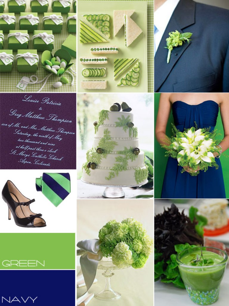 blue-green-colour-theme Top 10 Modern Color Trends for Weddings Planned in 2019