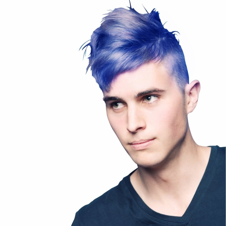 blue1 20+ Best Chosen Men's Hair Color Trends for 2019