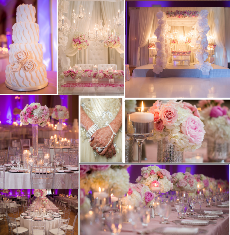 blush-tones-wedding Latest 20 Wedding Trends That All Couples Should Know