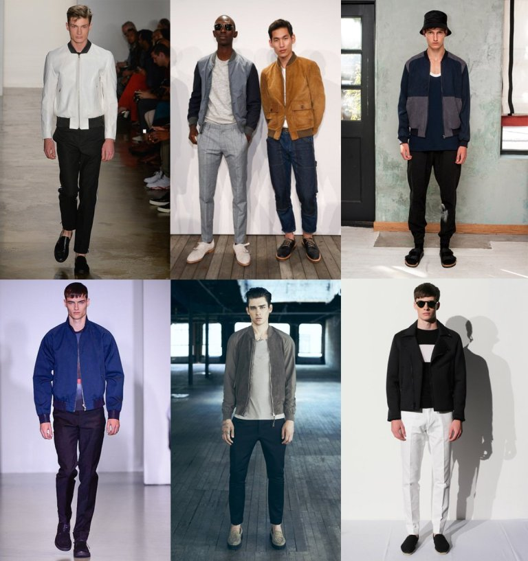 bomber-jackets 2017 Men's Color Trends ... [UPDATED]