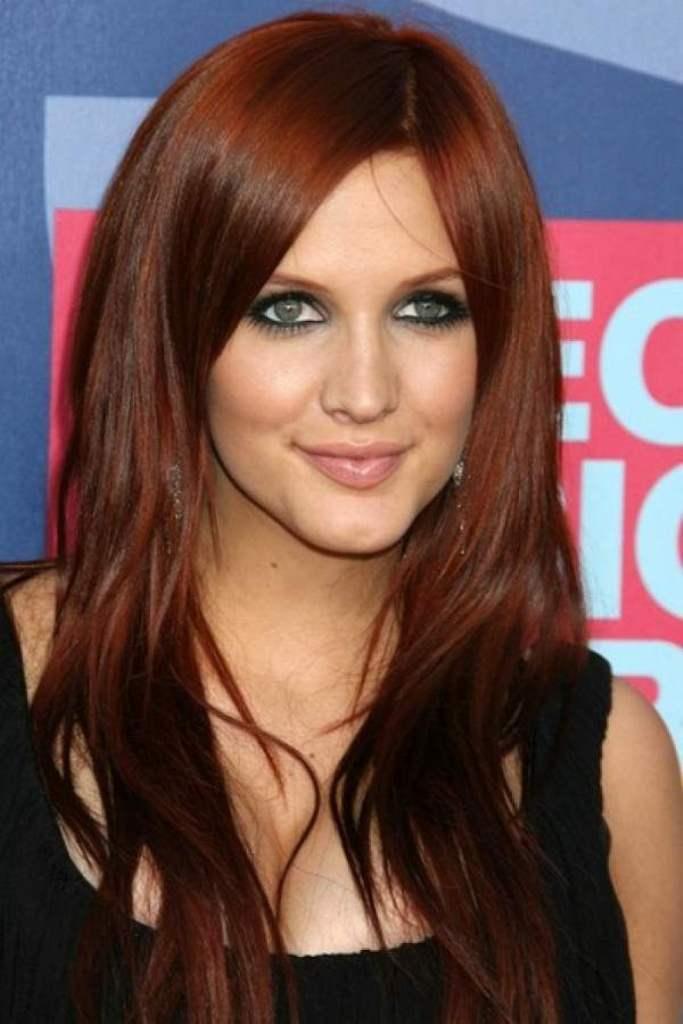 brunette-hair-color-spring-2014-17 Celebrity Hair Color Trends for Spring & Summer 2017 ... [UPDATED]
