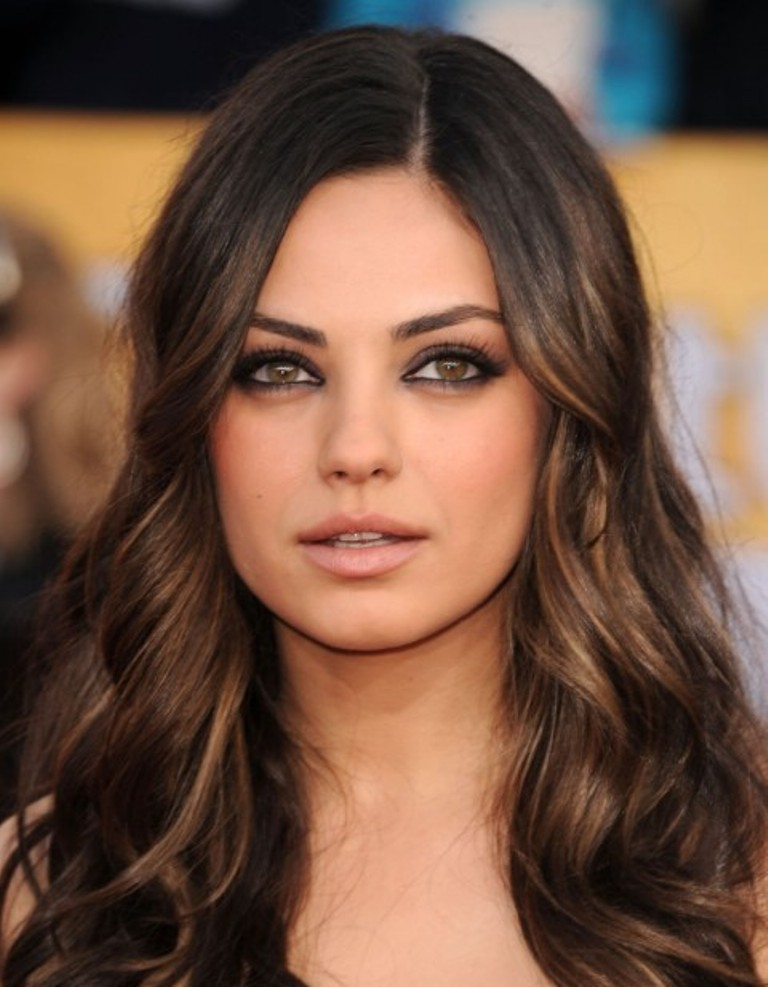 brunette-hair-color-spring-2014-3 Celebrity Hair Color Trends for Spring & Summer 2017 ... [UPDATED]