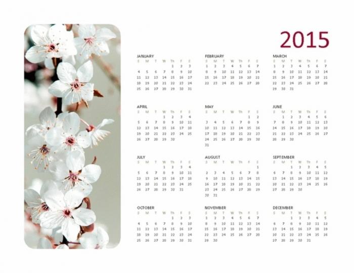 c5bcf8fbcf2b62ea7d1c64926ccdf9c1 Best 15 Printable Calendar Templates