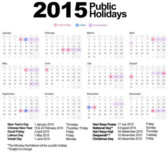calendar-2015 Top 15 Holiday Calendar Designs [EXCLUSIVE] ...