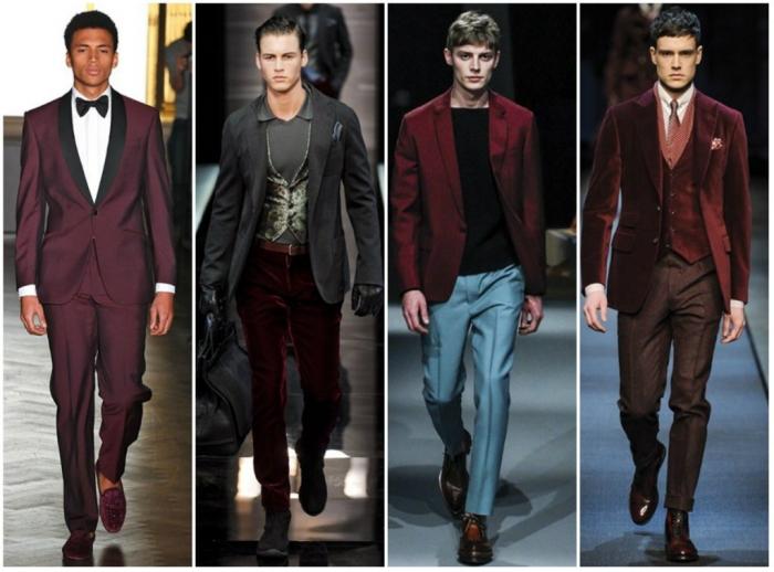 collage31 Top 10 Hottest Men's Color Trends