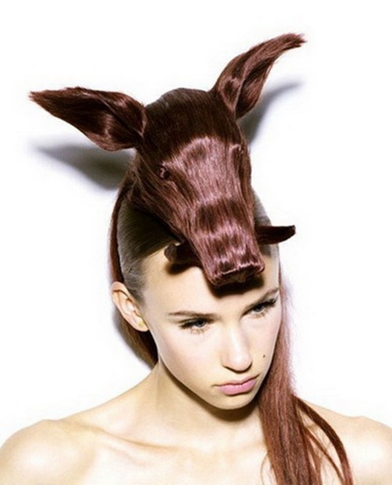 crazy_weird_hairstyle_30 25 Funny and Crazy Hairstyles to Change Yours