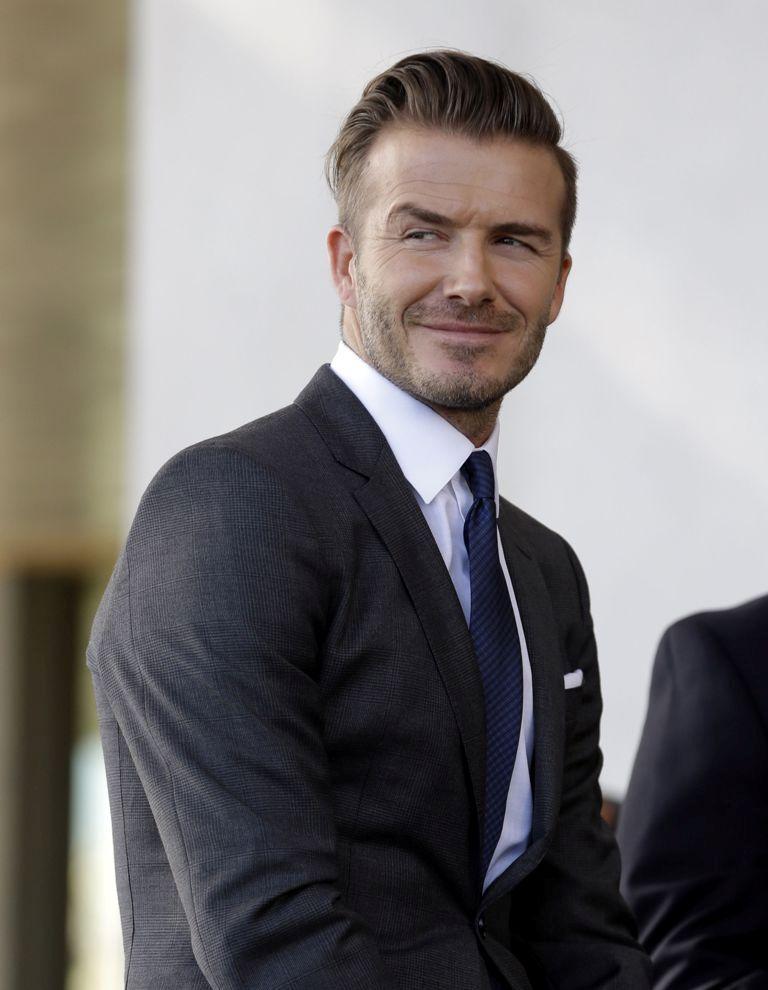 david-beckham-feb-five-2014 Best Chosen 15 Celebrity Beard Styles for 2019
