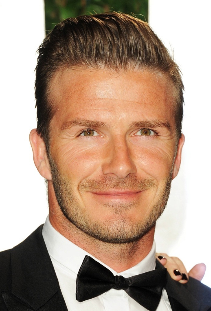 david-beckham-slick-back-hair Latest 20+ Men's Hair Trends Coming for Spring & Summer 2019