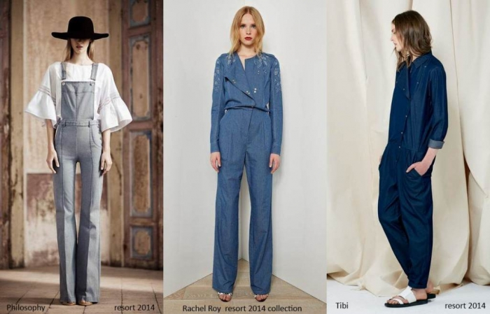 denim-overalls-jumpsuits-resort2014 Top 10 Fashion Trends from Resort
