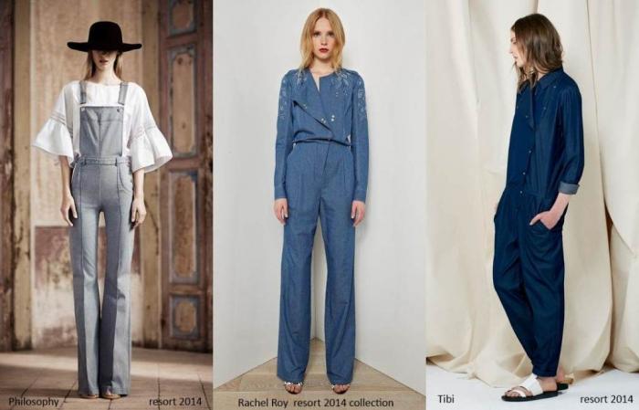 denim-overalls-jumpsuits-resort2014 Top 10 Fashion Trends from Resort