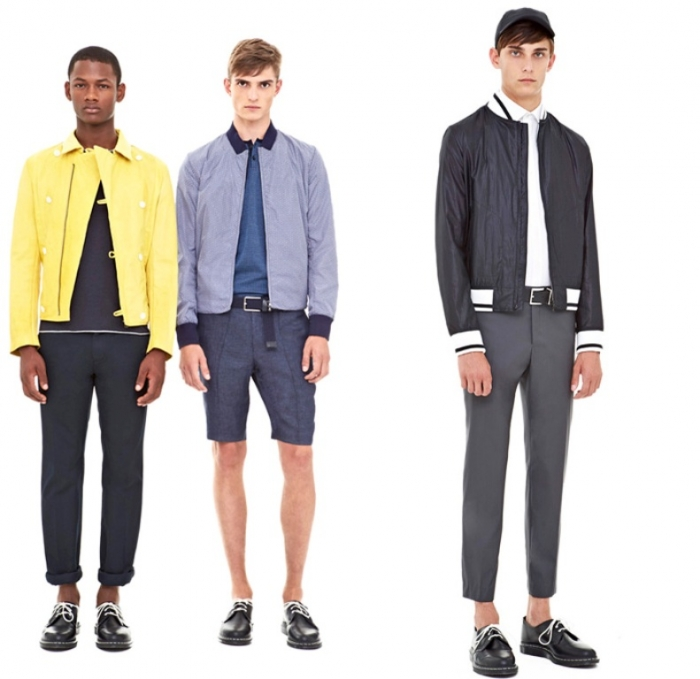 dkny-donna-karan-2014-spring-summer-mens-presentation-new-york-fashion-week-show-white-chinos-blazers-parka-bomber-varsity-jacket-motorcycle-biker-blue-02x Top 10 Hottest Men's Color Trends for 2019