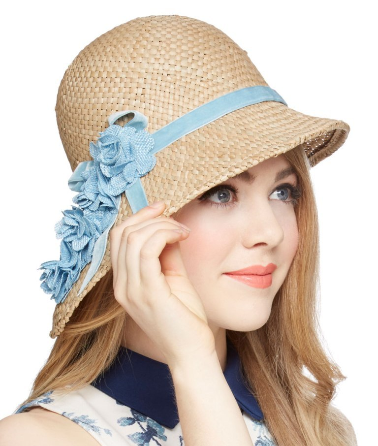 e9eabf24c1e77f9ff8a2282e04407560 The Hottest Women's Hat Trends for Summer 2017 ... [UPDATED]