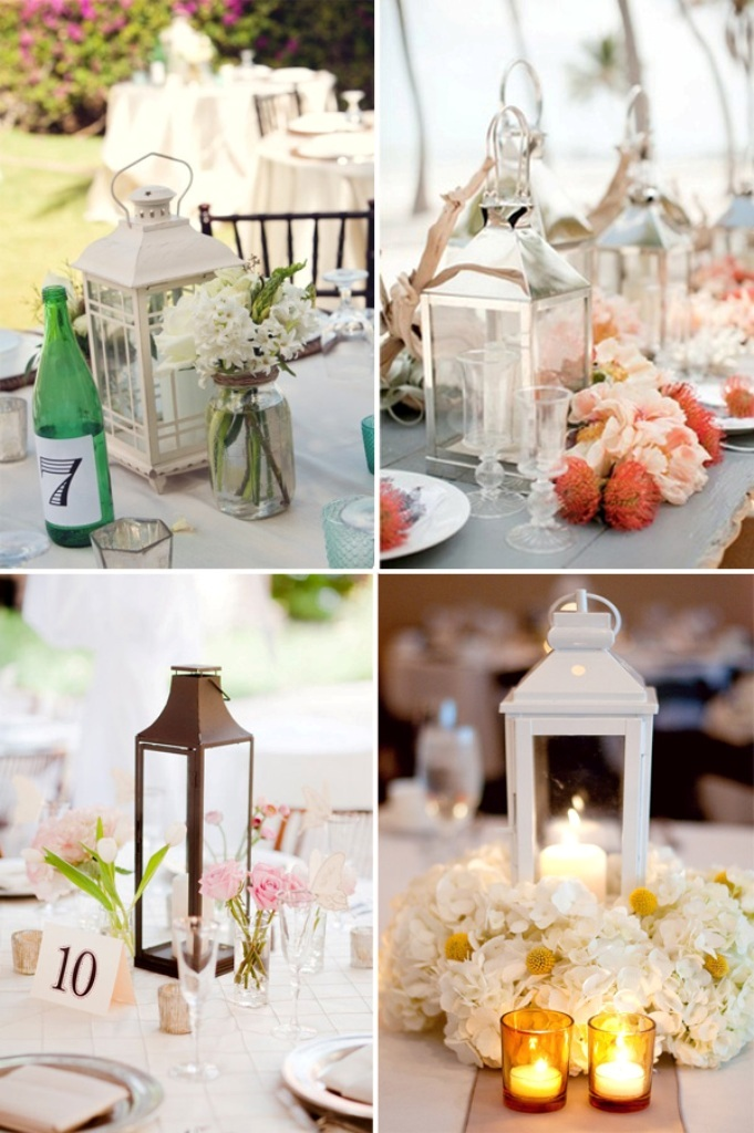 elegant-lantern-wedding-centerpieces-2014-decoration-trends Newest 20 Wedding Trends for 2019