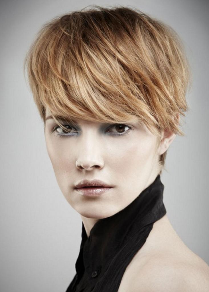 elegant-look-of-best-short-hairstyles-for-round-faces 2017 Short Hair Trends for Round Faces