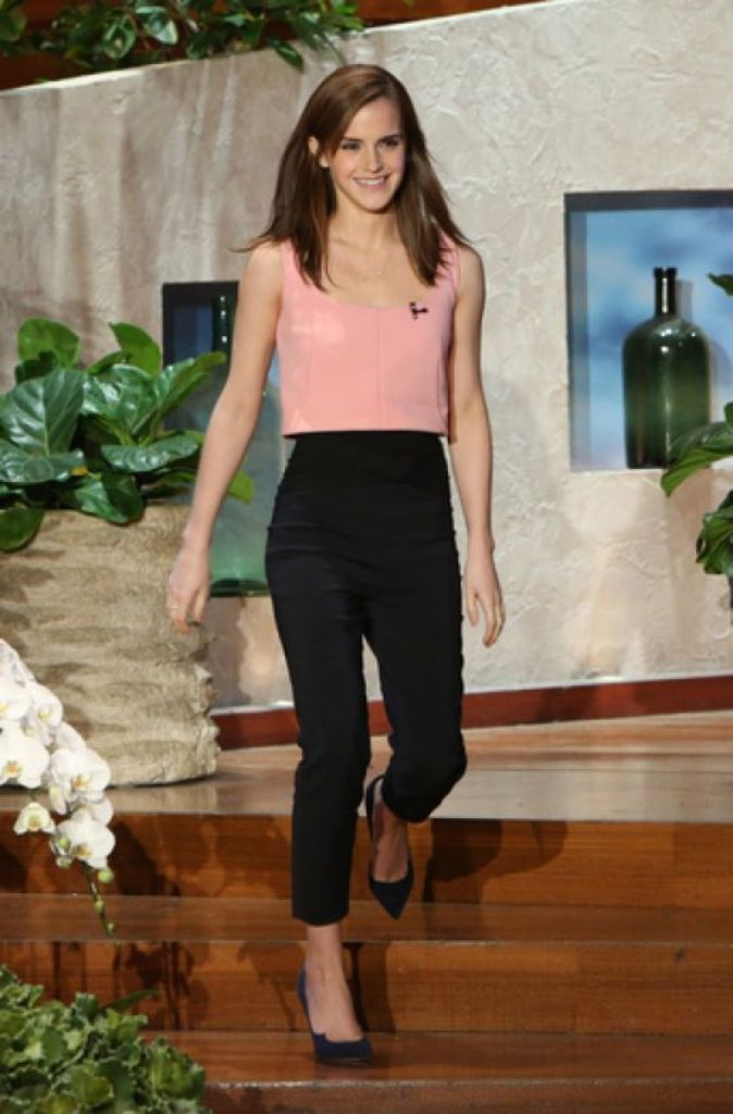 emma-watson-the-ellen-show-march-2014_1 Top 10 Celebrity Casual Fashion Trends for 2019