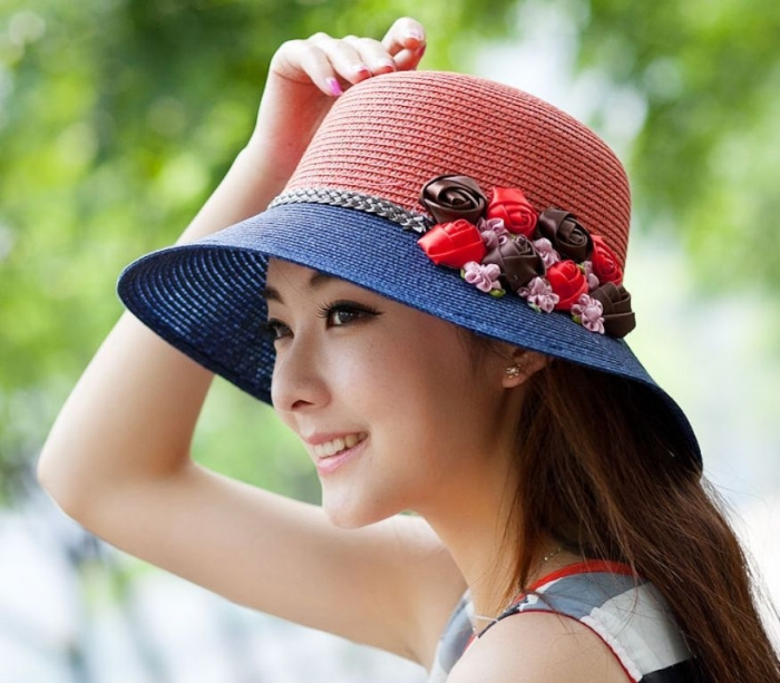 font-b-Hat-b-font-female-font-b-summer-b-font-fashion-flower-strawhat-font 10 Hottest Women's Hat Trends for Summer 2019