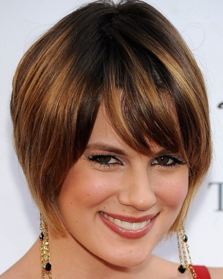 hairstyles-for-round-faces-2014 25+ Short Hair Trends for Round Faces Chosen for 2020