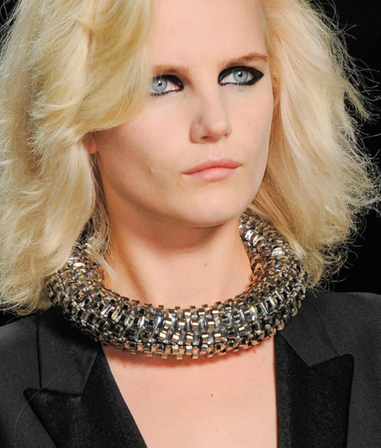 hbz-Saint-Laurent-AOTD-PFWSS14-necklace-1-xln Hottest 20 Necklace Trends for Summer 2017