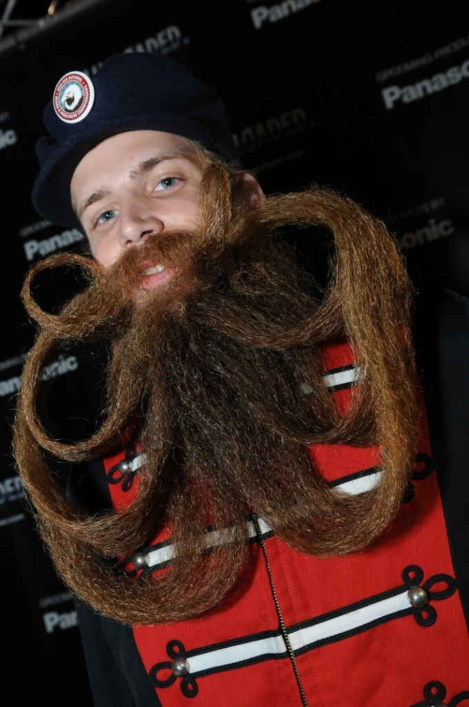 25 Crazy And Bizarre Beard And Moustache Styles Pouted