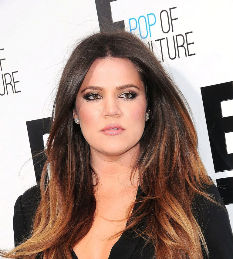 khloe_kardashian_black_dress_o Celebrity Most Hottest Summer Hair Trends 2017