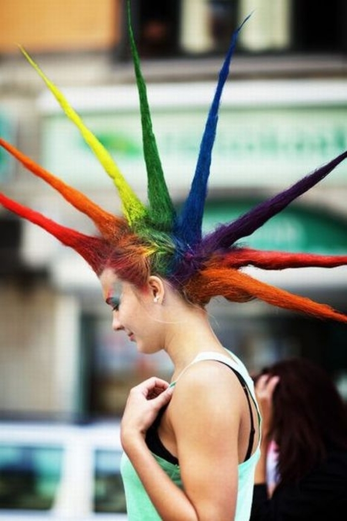 25 funny and crazy hairstyles to change yours � pouted