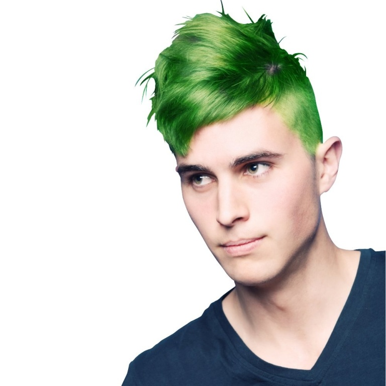 la-riche-mens-directions-semi-permanent-hair-dye-spring-green-p127-598_image 20+ Best Chosen Men's Hair Color Trends for 2019