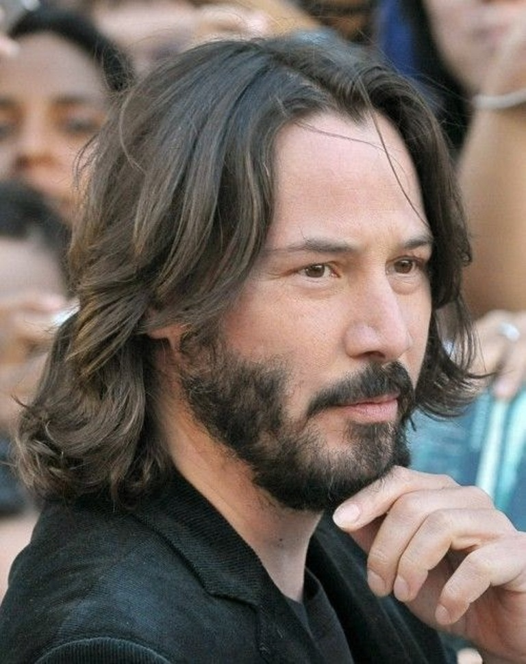 long-hairstyles-for-men-with-beards The Newest Celebrity Beard Styles in 2017 ... [UPDATED]