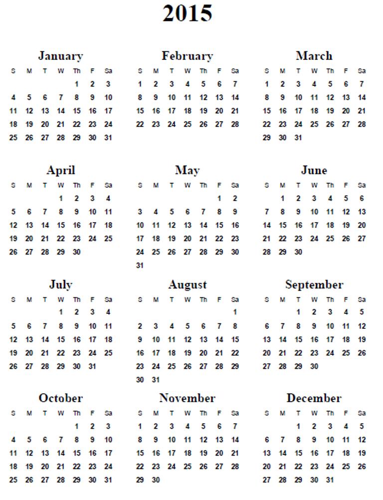 may-2015-calendar-8 Best 15 Printable Calendar Templates