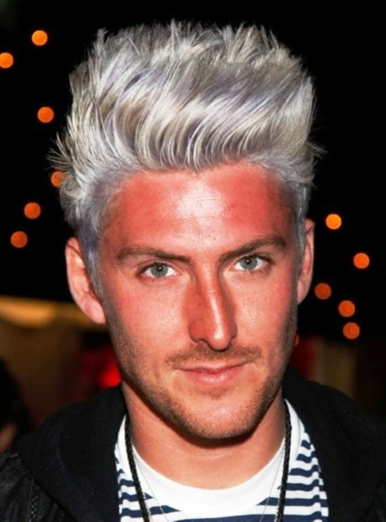 hair color silver hair color highlights men hair dye colors
