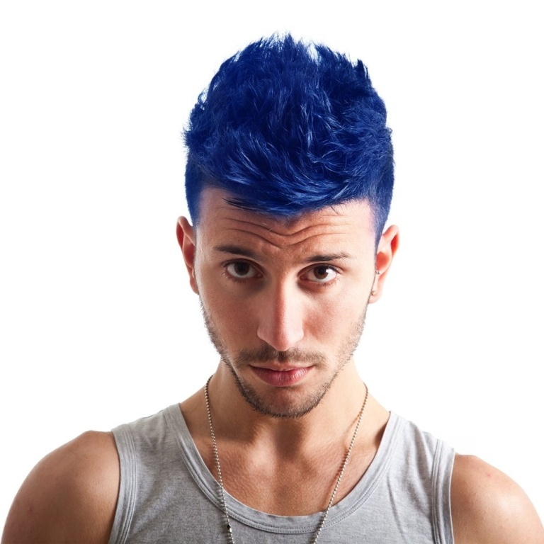 mens-manic-panic-semi-permanent-hair-dye-rockabilly-blue-comes-with-free-tint-brush-p601-3096_image 20+ Best Chosen Men's Hair Color Trends for 2019